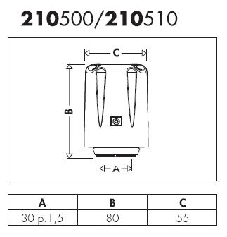210500 wical comando cronotermostatico stand alone for Helios termocamini scheda tecnica