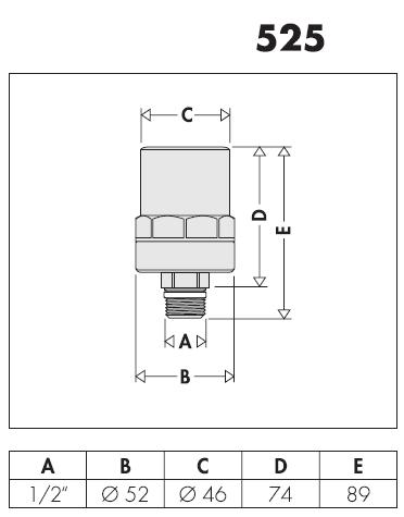 525040 1 2 antishock ammortizzatore del colpo d 39 ariete for Helios termocamini scheda tecnica