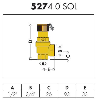 527480 sol valvola di sicurezza per circuito secondario 8 for Helios termocamini scheda tecnica