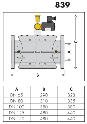 839060 elettrovalvola gas normalmente aperta con riarmo for Helios termocamini scheda tecnica